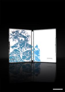 Metal Gear Rising Limited Edition European Pre-order Bonus .Render Steelbook Edition & Shinkawa Edition