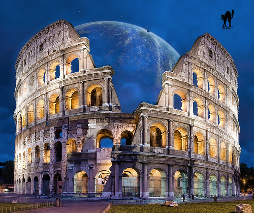 IMAGINARY RECONSTRUCTION OF THE COLOSSEUM