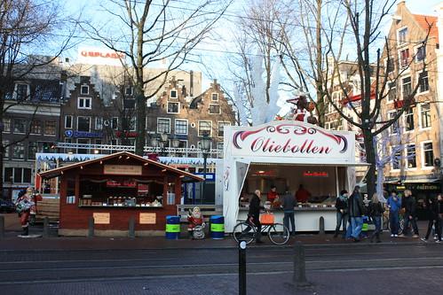 Carrinho de frituras em Amsterdam