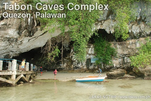 Entrance to the Tabon Caves Complex in Lipuun Point, Quezon, Palawan