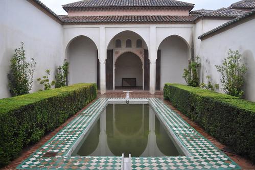 Alcazaba courtyard #2