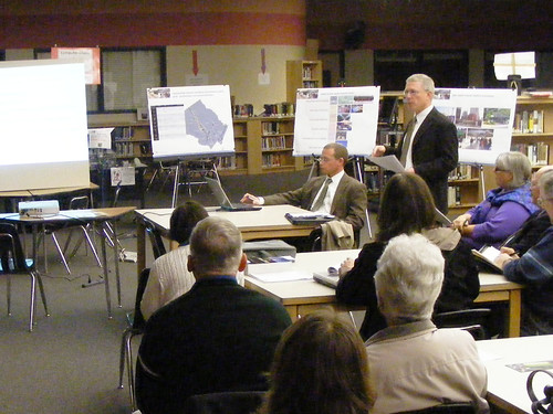 BRT Meeting, Blair High School