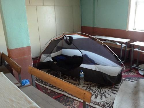 """Camping"" in the Koran school last night by mattkrause1969"