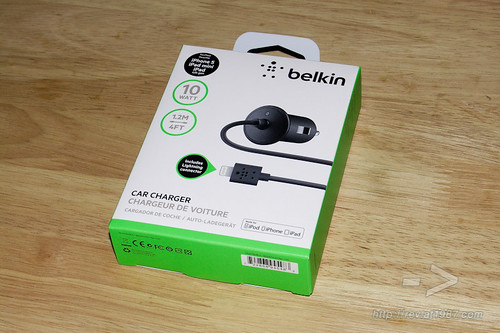 Belkin Car Charger with Lightning connector