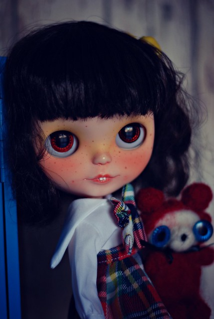 Penny Pencil and her ThrowawayBear