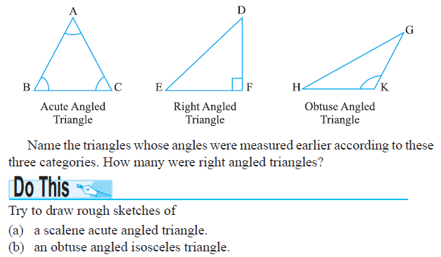 how to draw obtuse triangle