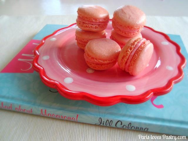 草莓玛卡龙