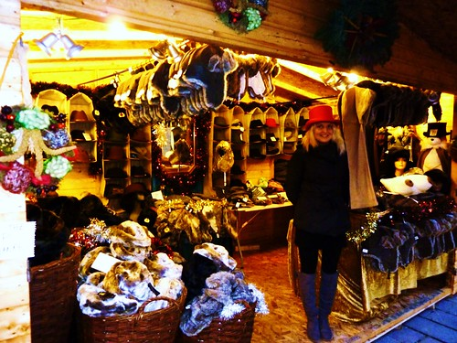 Winter Headgear at Glasgow Christmas Market