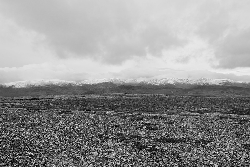 The Cairngorms from Carn Liath