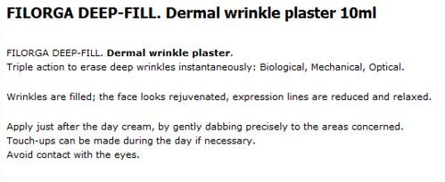 Deep Wrinkles Plaster
