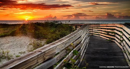 ocean sky beach clouds sunrise sand florida dunes boardwalk sanddune fernandinabeach seaoats ameliaisland sunshinestate floridasfirstcoast dunewalk dunewalkway access37