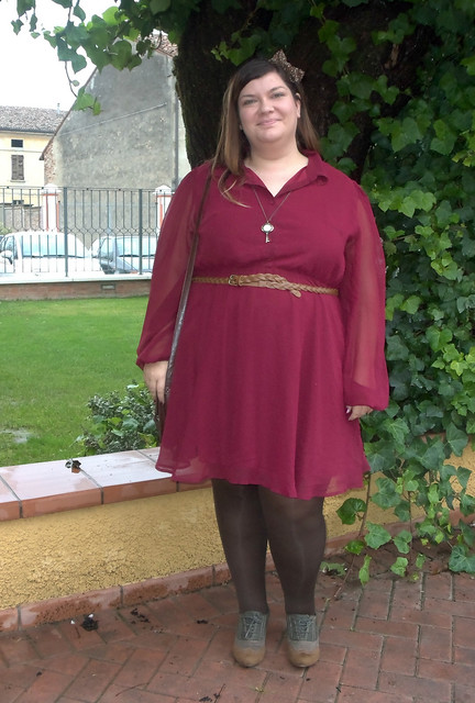 Curvy and Plus size Italian bloggers collaboration: outfit low cost