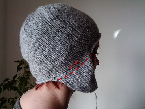 hat tutorial side flaps