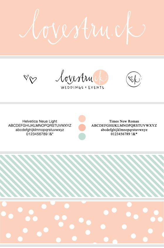 lovestruck-branding-board
