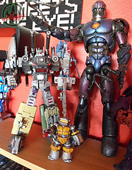 "Nickelodeon  TEENAGE MUTANT NINJA TURTLES :: METALHEAD  xxv / .. with 2010 CrazyDevy ""Combat Brigade "" Colossus { BRUTICUS } & 2005 TOY BIZ Marvel Legends - Sentinel Series SENTINEL   (( 2012 ))"