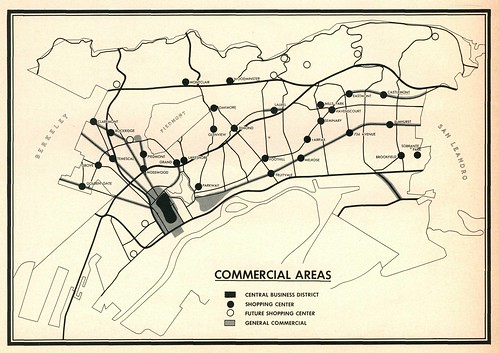 Oakland Commercial Areas (1959)