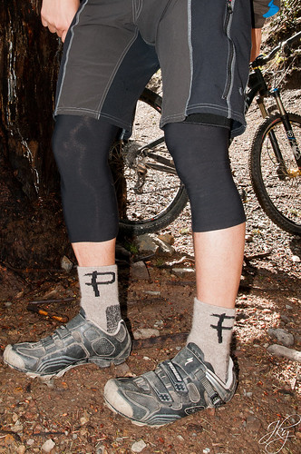 Pearly's Possum Socks on MtnBikeRiders.com
