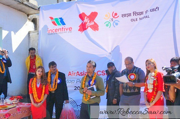 air asia x CSR One laptop one child program - Kathmandu Nepal-012