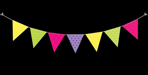 Bunting---Dots-and-Stripes---Rainbow---7