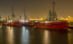 Schlepper im Hamburger Hafen: ZP Bulldog, ZP Condon, ZP Chalone