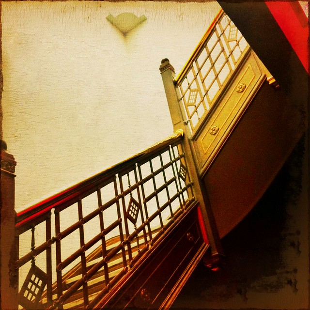 Fort Garry 9th floor stairwell