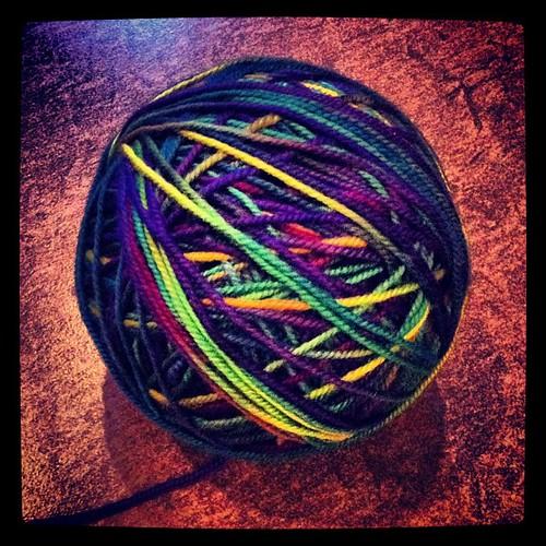 Latest fix: #hacho #mirasol #yarn #knitting
