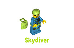 LEGO Minifigures Series 10 -  Skydiver
