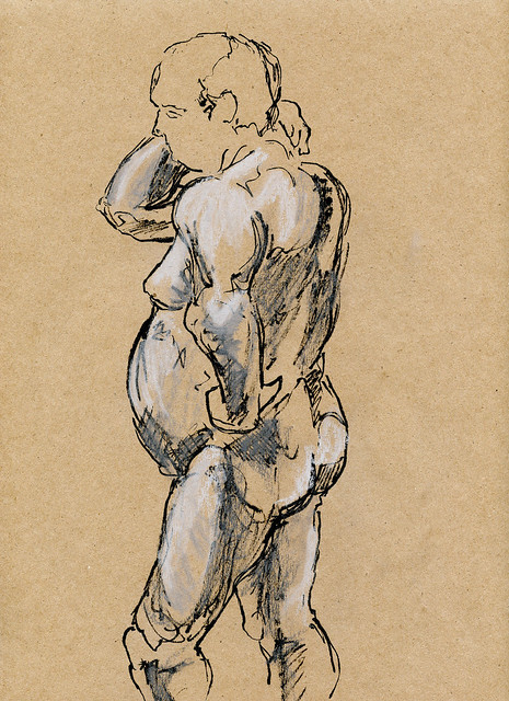 Life Drawing at Harcourt House-2