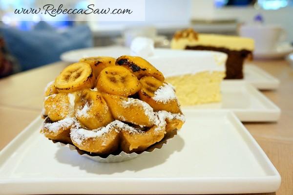 Just Heavenly Cafe - Bangsar Shopping Centre banana tart