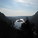 View through the Delaware Water Gap by scorchedearth