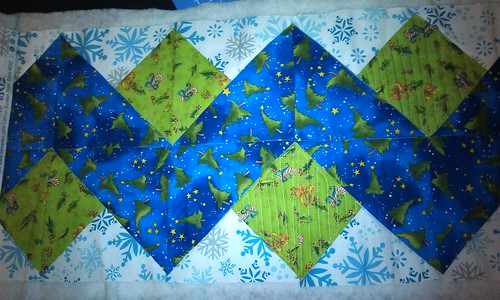 Holiday Ribbon Tablerunner