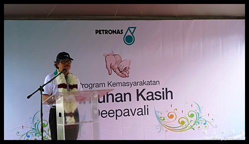 Speech by YBhg Dato Medan : Speech by Pegawai Daerah Manjung : Sentuhan Kasih Deepavali with Petronas @ Kampung Wellington, Manjung, Perak