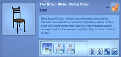 The Bravo Bistro Dining Chair