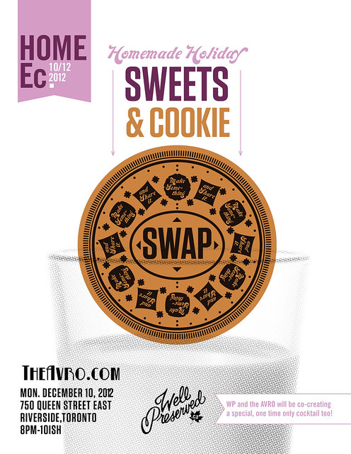 Home Ec #12: Homemade Holiday Sweets & Cookies Swap (Dec 10) November