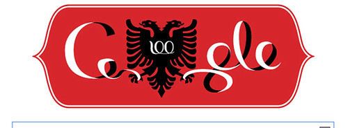google-doodle-100-years-albania by Albania Holidays