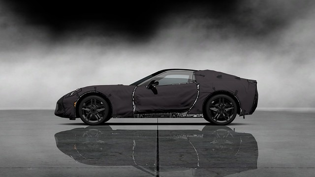 Chevrolet Corvette C7 Test Prototype Left Side