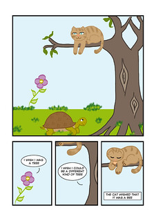 Tree Hugger page 1
