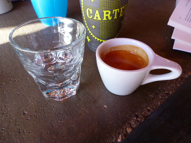 Cartel Coffee espresso