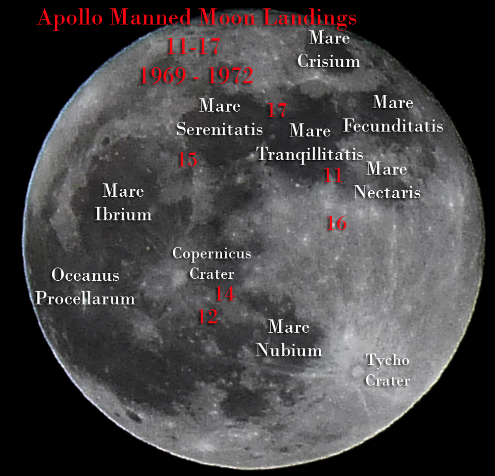 Map of Moon Landings page 2  Pics about space