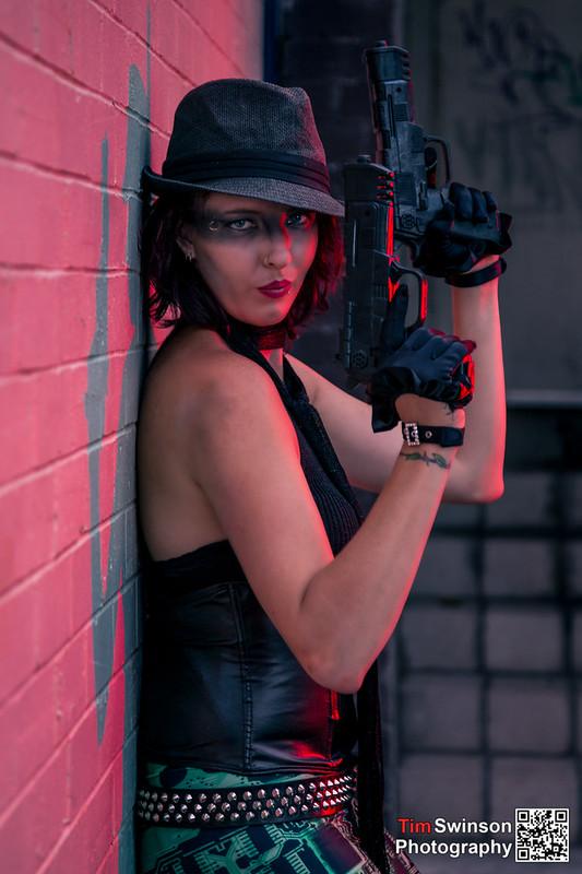 Secret agent woman