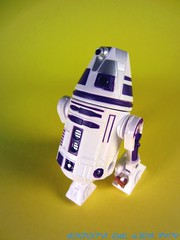 Purple R4-Series Astromech Droid