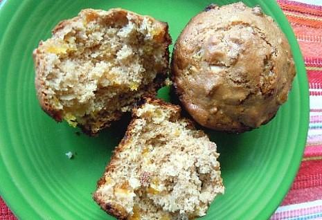 Little Bits Apricot Muffins