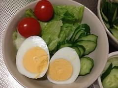 朝食サラダ 2012/11/13