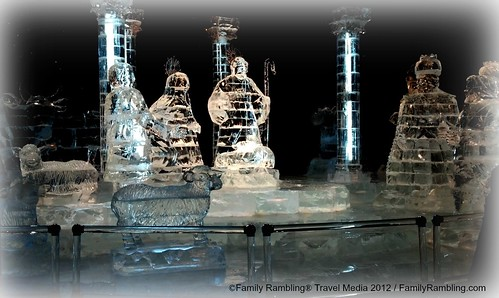 Nativity in ICE at Gaylord Texan