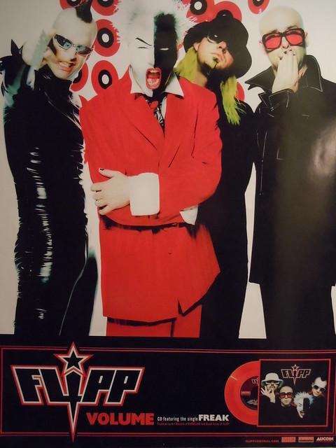 "2002 Flipp Volume 18""X24"" Promo Poster"