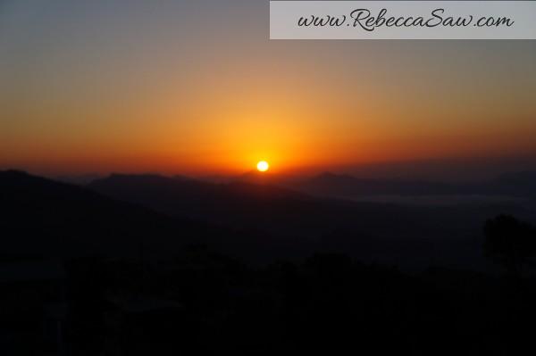 Sarangkot Nepal - sunrise pictures - rebeccasawblog-004
