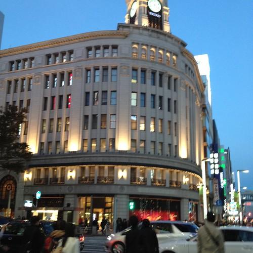 やっと銀座通り by haruhiko_iyota