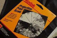 Kodak Projection Print Scale曝光表尺