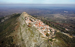 El casco antiguo de Marvão, en un enclave espectacular.