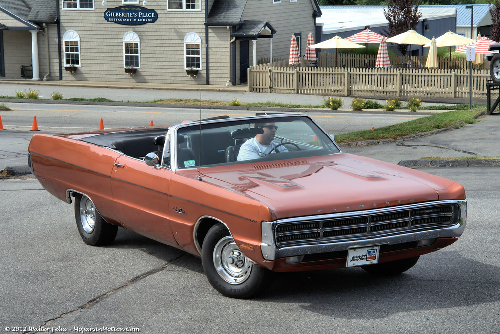 1970 Plymouth Sport Fury Convertible